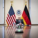 Image cover photo: DHS Secretary Alejandro Mayorkas Call With Horst Seehofer (1)