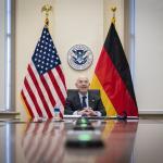 Image cover photo: DHS Secretary Alejandro Mayorkas Call With Horst Seehofer (2)