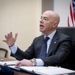 Image cover photo: DHS Secretary Alejandro Mayorkas Call With Horst Seehofer (8)