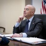 Image cover photo: DHS Secretary Alejandro Mayorkas Call With Horst Seehofer (9)