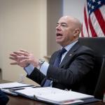 Image cover photo: DHS Secretary Alejandro Mayorkas Call With Horst Seehofer (10)