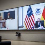 Image cover photo: DHS Secretary Alejandro Mayorkas Call With Horst Seehofer (12)