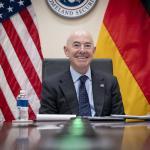 Image cover photo: DHS Secretary Alejandro Mayorkas Call With Horst Seehofer (13)
