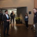 Image cover photo: Secretary of Defense visits FEMA for  COVID-19 briefing