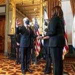 Image cover photo: Vice President Kamala Harris Swears in Alejandro Mayorkas as Secretary of Homeland Security (3)