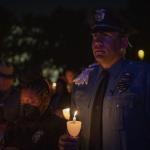 Image cover photo: National Law Enforcement Officer Memorial's annual Candlelight Vigil