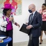 Image cover photo: Secretary Mayorkas's Meeting with Haitian Community Leaders in Miami (1)
