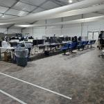 Image cover photo: Temporary processing facilities in Donna, Texas (7)