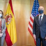 Image cover photo: Secretary Mayorkas meets with Spain's Vice-President and Minister of Economy and Digital Transformation Calviño
