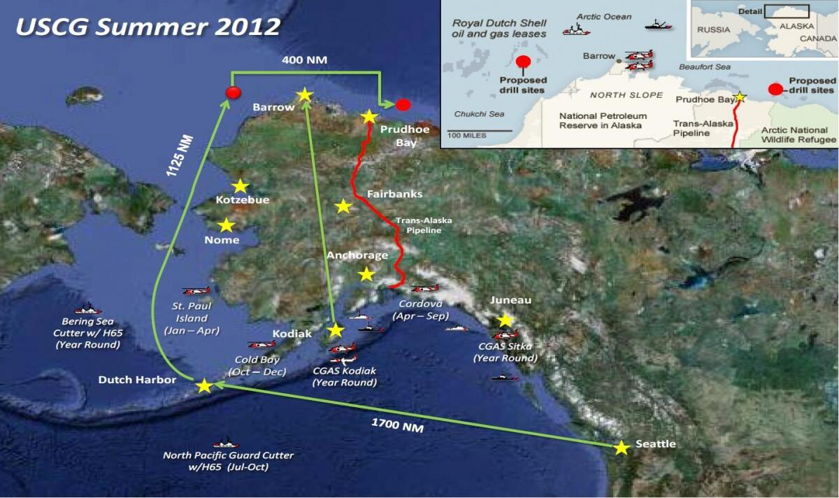 Planned Force Lay Down for Arctic Shield 2012