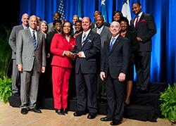 Secretary's Award for Excellence 2014 - DHS Veterans Employment Coordinators Team
