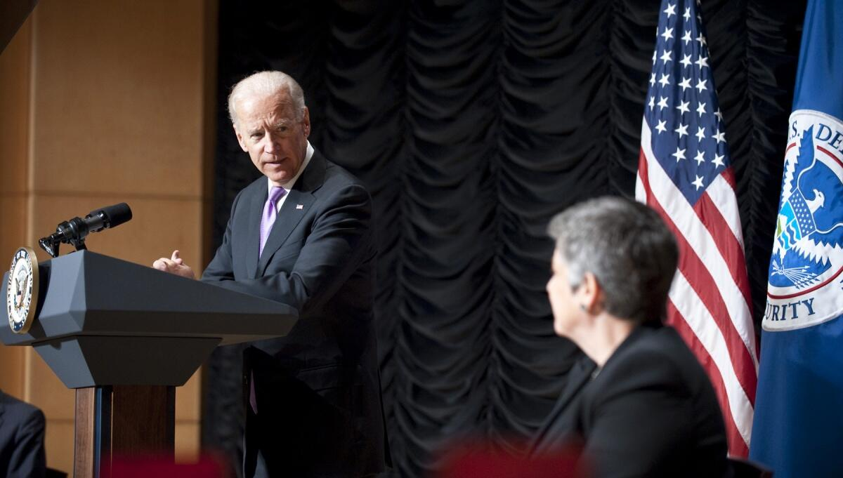 Vice President Biden delivers remarks.