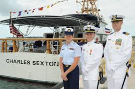 Coast Guard Sexton and crew