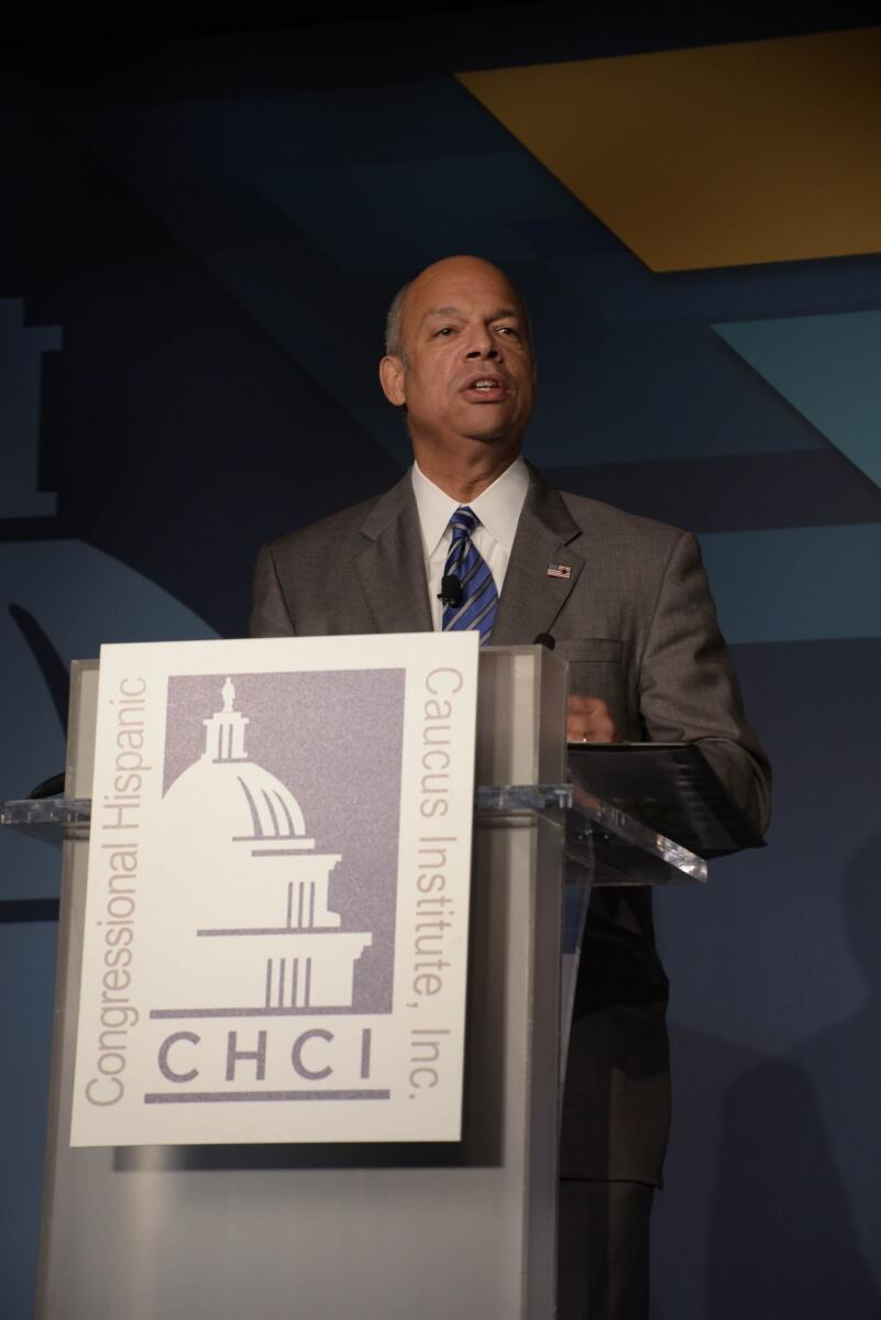 During his remarks, Secretary Johnson discussed how leaders in this country have a distinct responsibility to communicate openly and honestly with the American people. ""