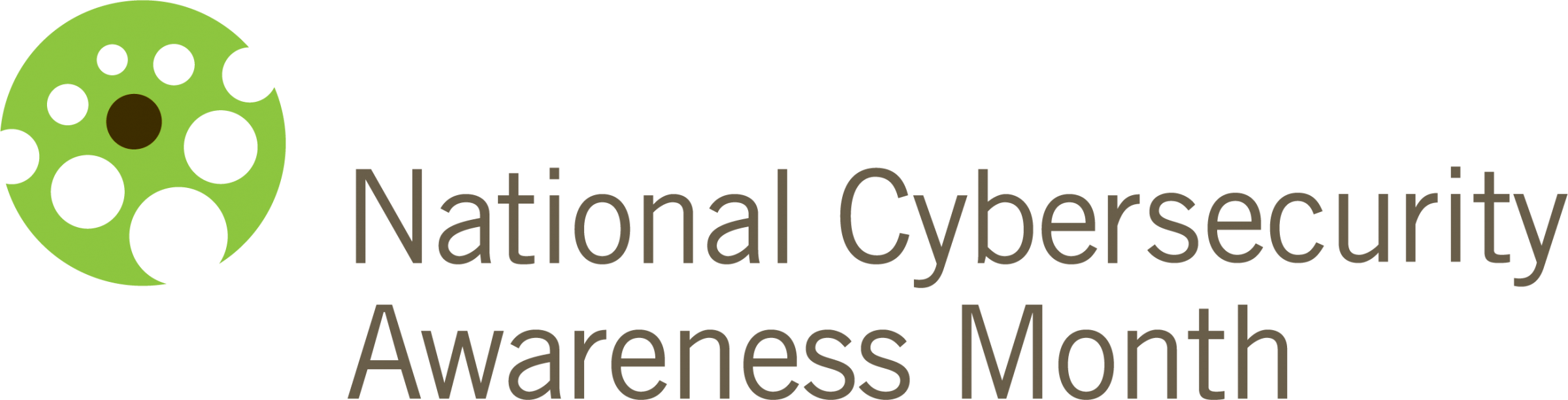 National Cyber Security Awareness Month logo