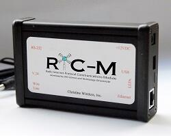 Radio Internet-Protocol Communications Module (RIC-M), Developed by DHS Science and Technology Directorate. Christine Wireless, Inc.