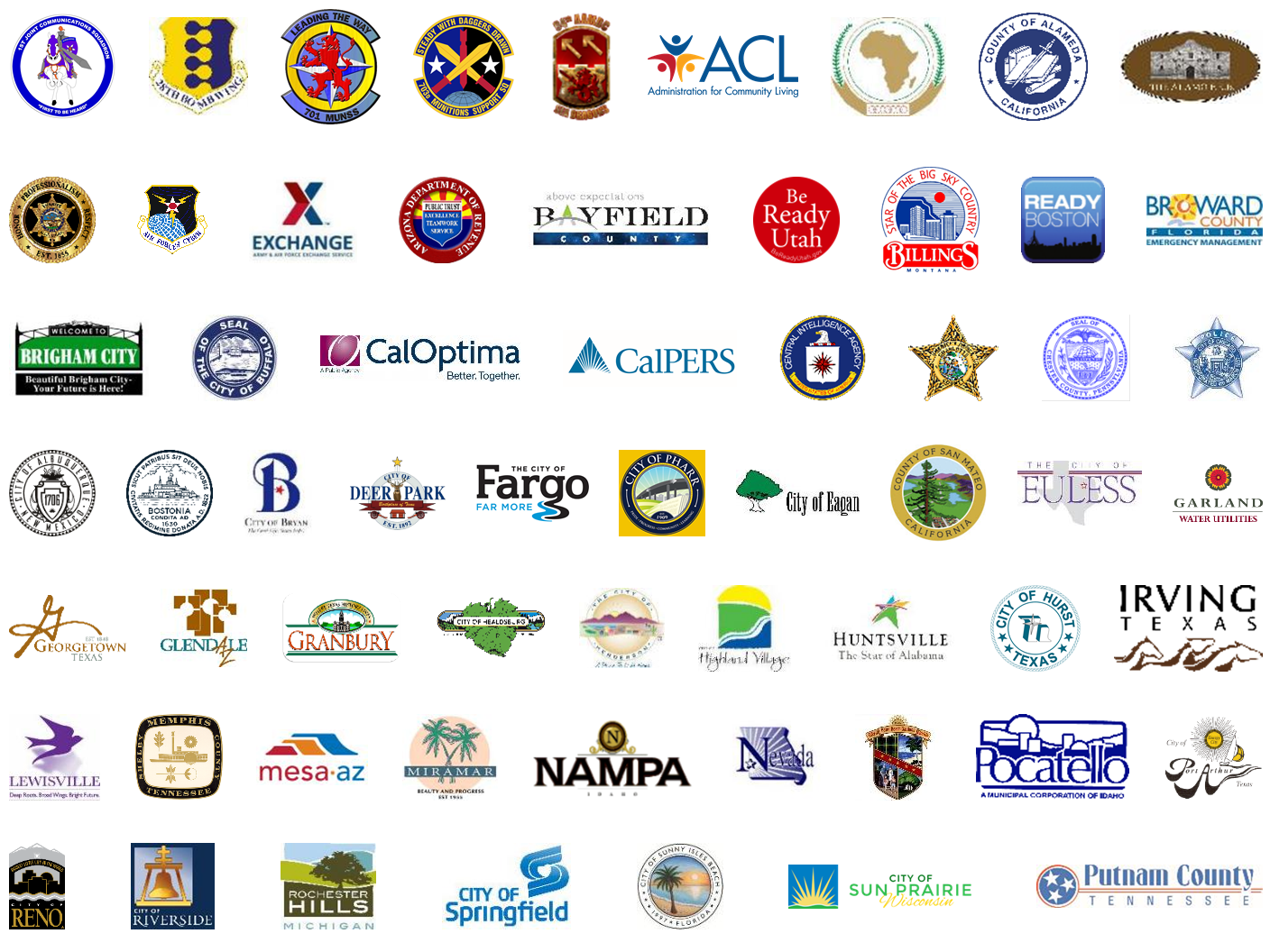 Cyber Awareness Coalition member logos.
