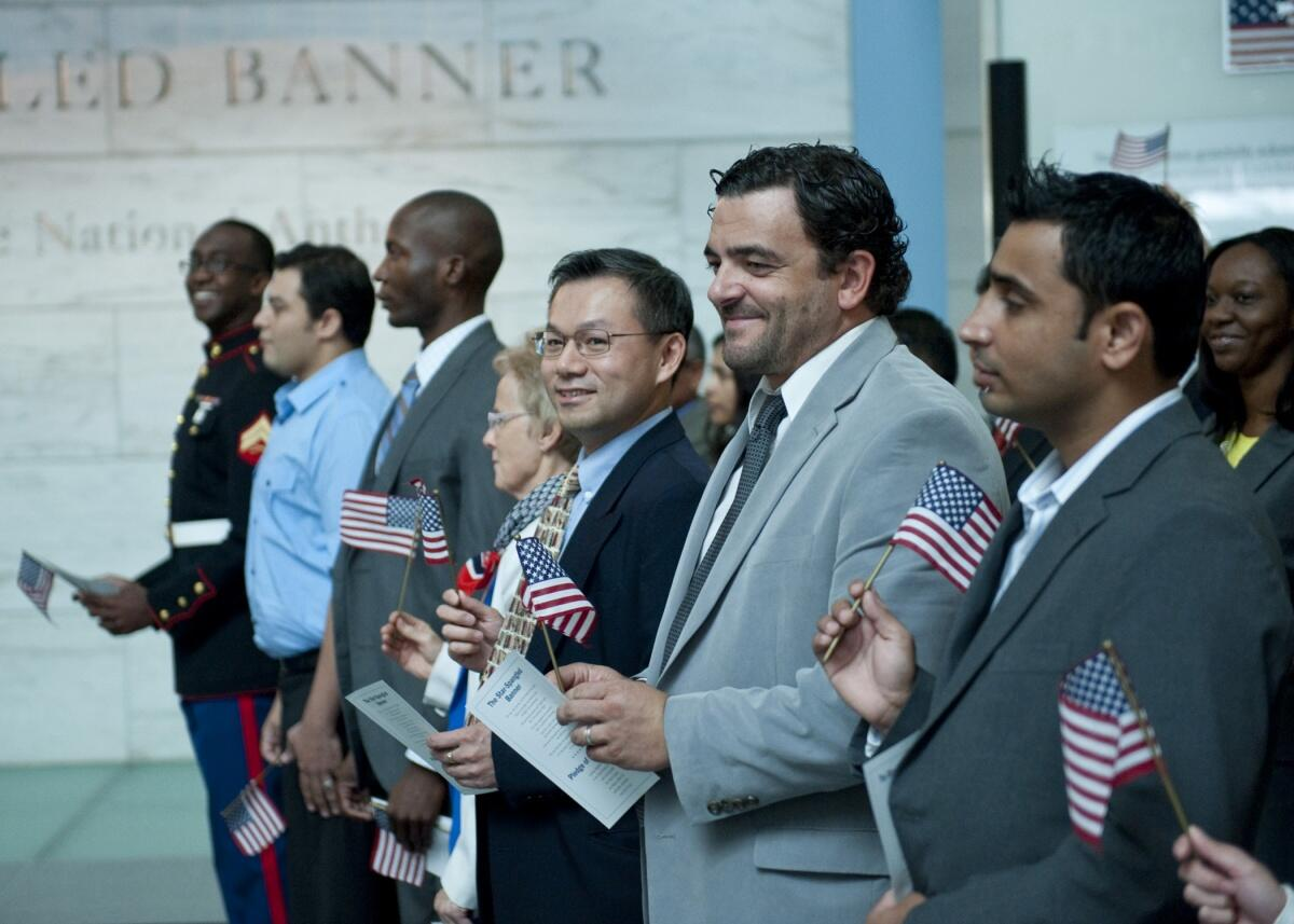 DHS/USCIS Naturalization Ceremony
