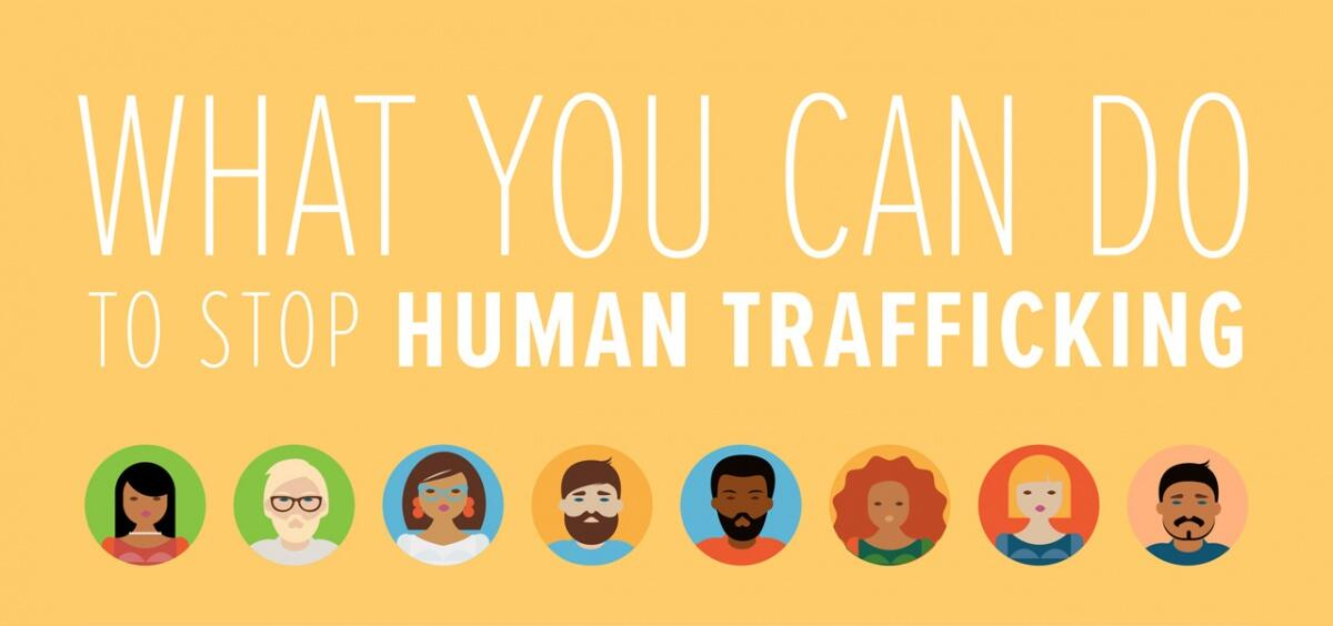 What you can do to stop human trafficking.