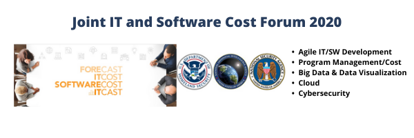Joint IT and Software Cost Forum 2020 Banner and Logo.