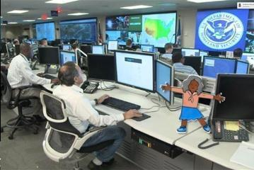 Flat Amber visits DHS's NCCIC, a 24-hour cyber situational awareness, incident response, and management center.