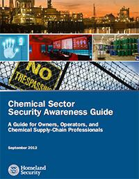 Chemcial Sector Security Awareness Guide Cover