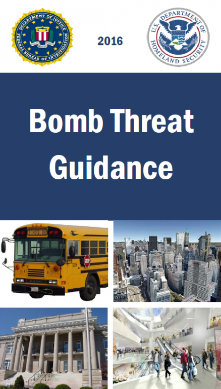 What To Do Bomb Threat Homeland Security