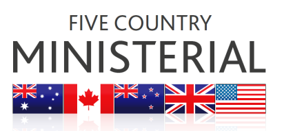 Five Country Ministerial: Five Country Ministerial and Quintet of Attorneys General Joint Communique logo