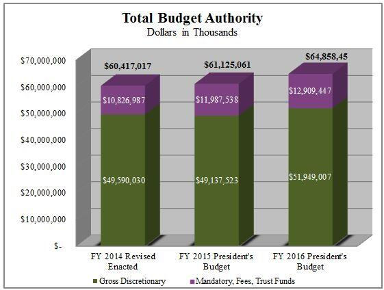 Figure 1: Total Budget Authority