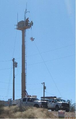 Remote Video Surveillance System tower