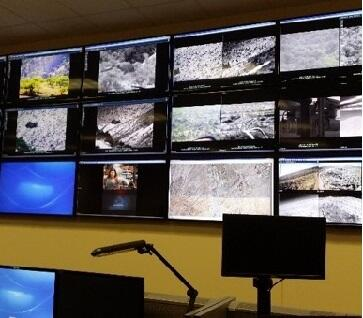 Remote Video Surveillance monitoring station