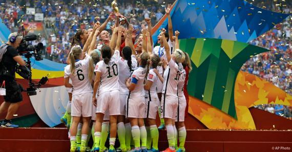 US Womens Soccer Team 2014 World Cup