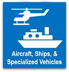 Aircraft, Ships & Specialized Vehicles