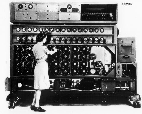 Women of DHS - Bombe Machine