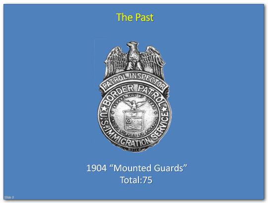"The Past: 1904 ""Mounted Guards"" Total: 75"