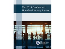 2014 Quadrennial Homeland Security Review Report Cover
