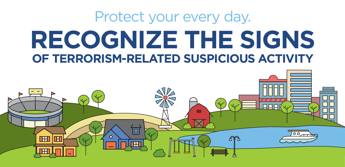 Protect Your Every Day. Recognize the Signs of terrorism-related Suspicious Activity.