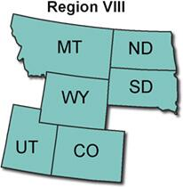 MT, ND, SD, WY, UT, CO.