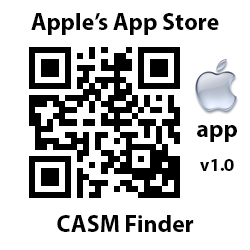 Apple's App Store. App v.10. CASM Finder