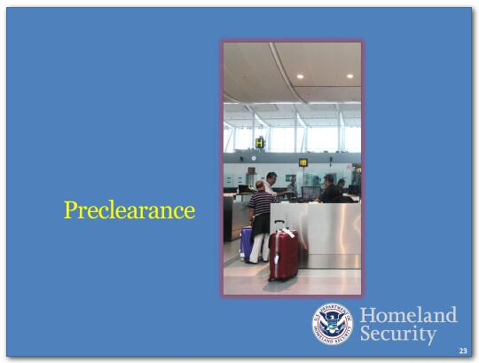 Our counterterrorism efforts also include continued vigilance in aviation security. Last summer I directed that we enhance aviation security at overseas airports with flights directly to the United States.