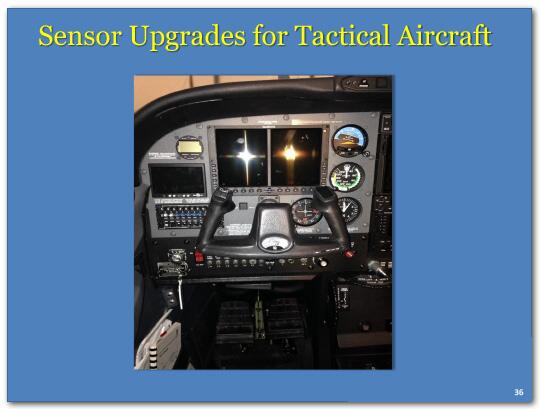 Sensor upgrades for tactical aircraft.