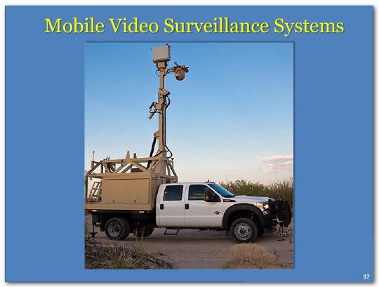Mobile video surveillance systems.