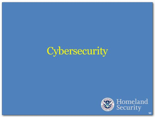 We need to make strides in cybersecurity.