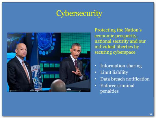 Cybersecurity protects the Nation's economic prosperity, national security and our individual liberties by securing 
