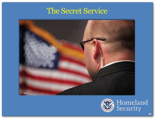 The Secret Service is the finest protection service in the world.