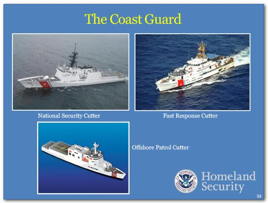 We are ensuring that the Coast Guard has what it needs to get its job done.