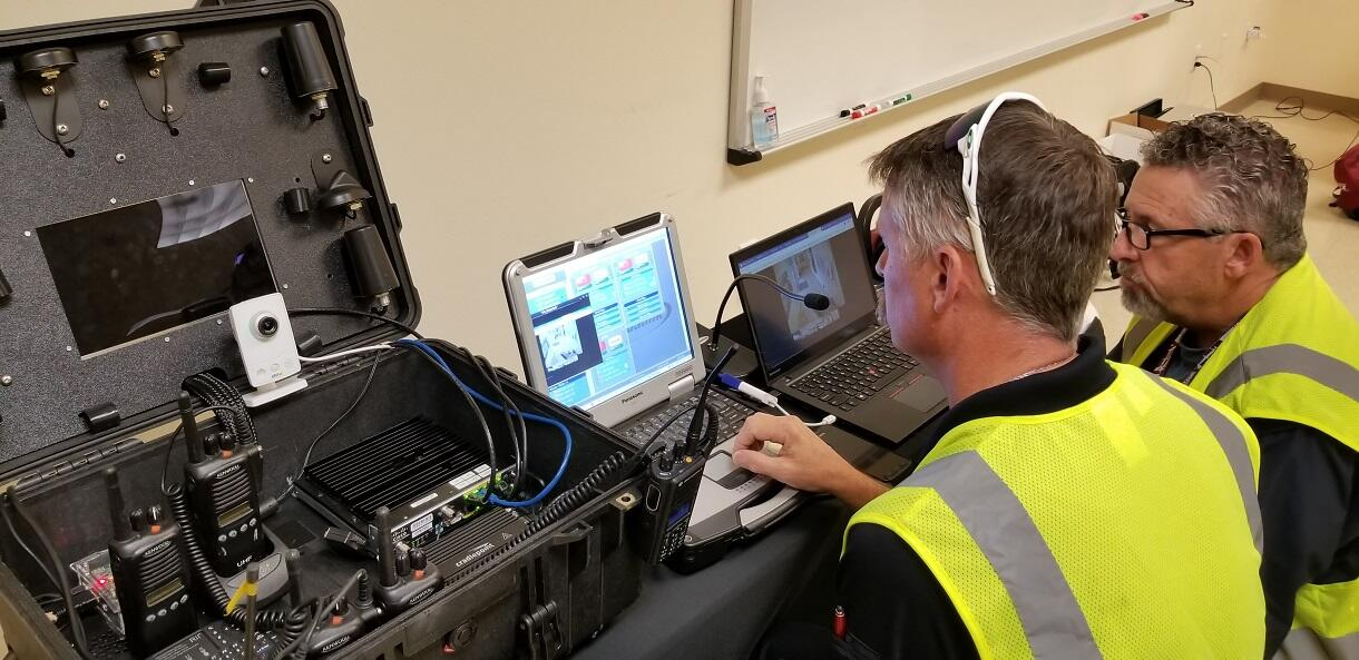 During the SCITI Labs DTE, first responders were able to pull in sensor and imagery information to inform decision-making during a search and rescue scenario.