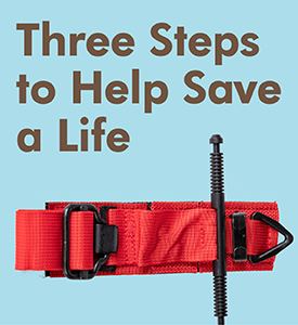 Three Steps to Help Save a Life