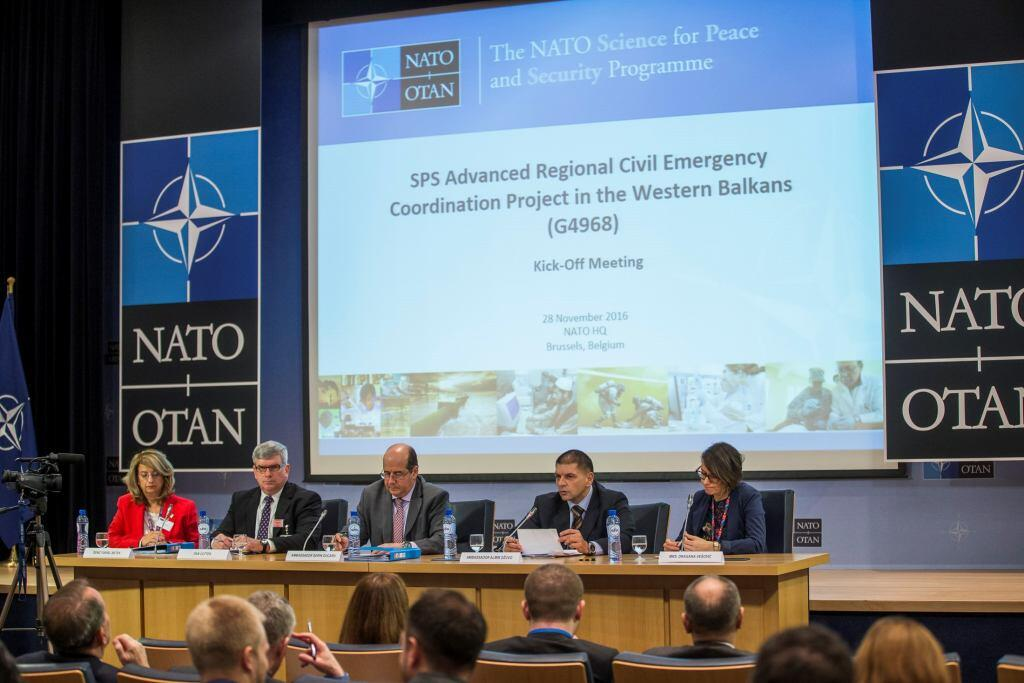 FRG Director Dan Cotter spoke at a panel during the NATO Science for  Security and Peace 615cb382ddd