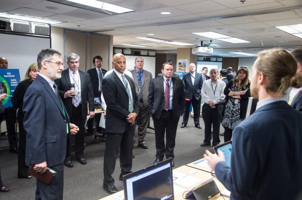 FRG's IoT pilot phase I demonstration took place in January, 2016 with the participation of S&T senior leadership.
